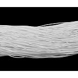 1mm White Elastic Fibre Thread & Cord(X-YRB1MM-6)