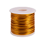 2mm Goldenrod Aluminum Wire(AW-WH0001-2mm-03)