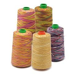 Fil à coudre de nylon, couleur mixte, 0.1~0.4 mm; environ 600~3000 m/rouleau(NWIR-O006-B)