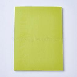Gravure bricolage timbre en caoutchouc sculpté à la main, brique en caoutchouc à la main, rectangle, 'Chartreuse , 150x200x7mm(DIY-WH0116-06E)