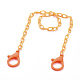 Personalized ABS Plastic Cable Chain Necklaces(NJEW-JN03310-01)-1