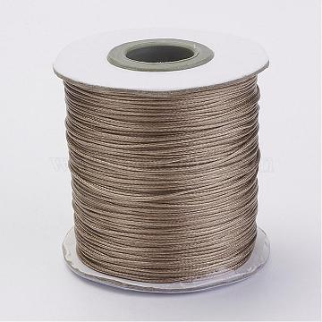 0.5mm BurlyWood Waxed Polyester Cord Thread & Cord