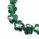 Synthetic Malachite Bead Strands(G-T003-16mm-06)-1