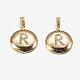 Brass Pendants(KK-K194-R-G-RS)-1
