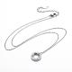 304 Stainless Steel Pendant Necklaces(NJEW-I232-29)-2