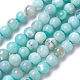 Natural Dyed Agate Imitation Turquoise Beads Strands(X-G-P425-02A-8mm)-2