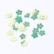 Ornament Accessories Disc Plastic Paillette Beads(X-PVC-R016-M)-2