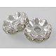 Middle East Rhinestone Spacer Beads(X-RSB028NF-01)-1