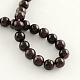 Natural Garnet Gemstone Beads Strands(X-G-R263-9mm)-2