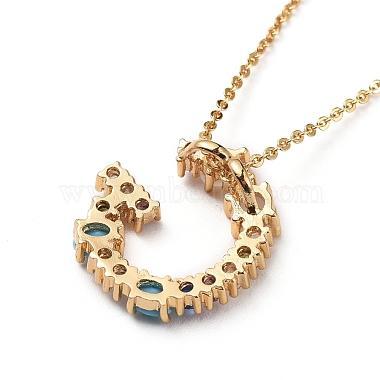 Letter Brass Initial Pendants Necklaces(NJEW-JN02584-03)-3