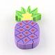 Handmade Pineapple Polymer Clay Cabochons(X-CLAY-R060-72B)-2