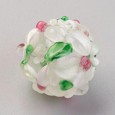 Perles vernissées manuelles(LAMP-P051-H10)-1