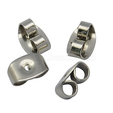 Stainless Steel Color Stainless Steel Earnuts