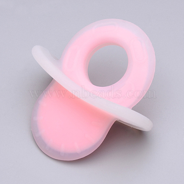 78mm Pink Daily Supplies Silicone Pendants