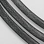 Plastic Net Thread Cord, Black, 10mm, about 30 yards/bundle