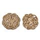 Handmade Reed Cane/Rattan Woven Beads(X-WOVE-Q077-08)-2