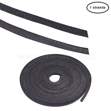 3mm Black Cowhide Thread & Cord