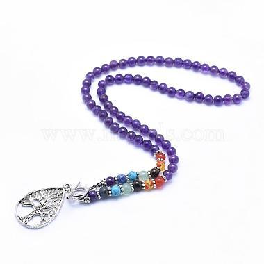 Purple Amethyst Necklaces