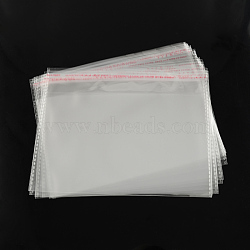 OPP sacs de cellophane, rectangle, clair, 20x24 cm; épaisseur unilatérale: 0.035 mm(X-OPC-R012-26)