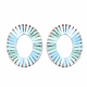 Handmade Raffia Woven Linging Rings(WOVE-S120-01D)-1