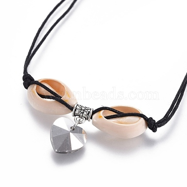 Chinese Waxed Cotton Cord Pendant Necklaces(NJEW-JN02304-02)-3