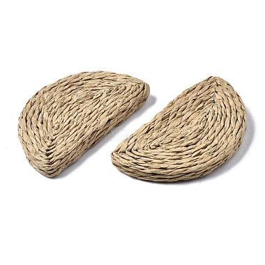 Handmade Reed Cane/Rattan Woven Beads(WOVE-S119-20A)-4