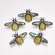 Natural Topaz Jade Broochs/Pendants(G-S353-08L)-1