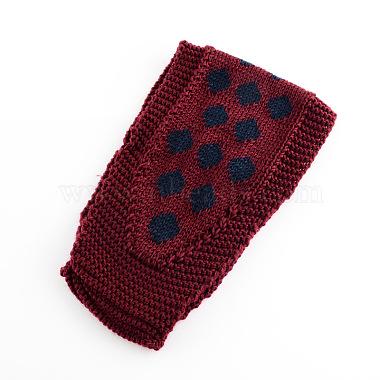 DarkRed Yarn Headband
