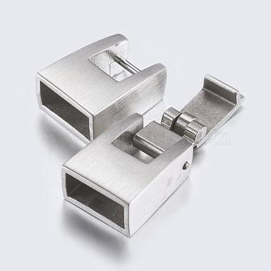 304 Stainless Steel Snap Lock Clasps(STAS-P180-22P)-3