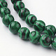Synthetic Malachite Bead Strands(G-G735-70-8mm)-3