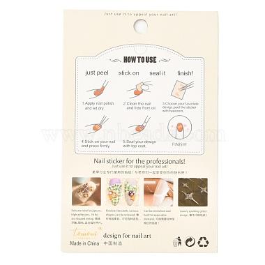 autocollant de décoration d'art d'ongle de dessin animé de thème de planète(MRMJ-O001-07A)-4