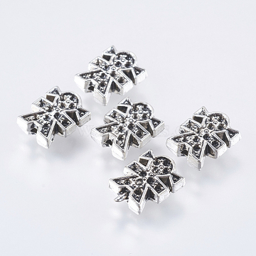 Antique Silver Human Alloy Beads