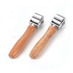 ролики для ламинирования кожи, поделки ручной работы сгиба инструмент, ролик, 150 мм; 26 мм(TOOL-PH0016-15)