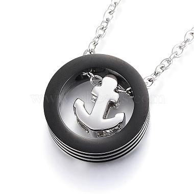 304 Stainless Steel Pendant Necklaces(NJEW-H438-12A)-2