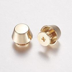 Ящики для ящиков для ювелирных изделий из цинкового сплава, ручки шкафа, конус, золотые, 10.5x11 мм(PALLOY-WH0005-01G)