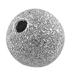 Perles en laiton texturées, sans nickel, rond, couleur platine, taille: environ 10mm de diamètre, Trou: 1.8mm(X-EC226-NF)