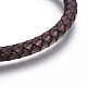 Leather Braided Cord Bracelets(BJEW-E352-21P)-2