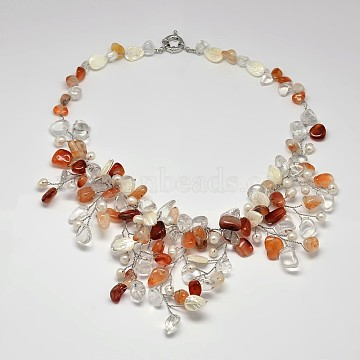 Colorful Gemstone Necklaces