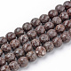 Natural Snowflake Obsidian Beads Strands(G-Q462-89-12mm)-1