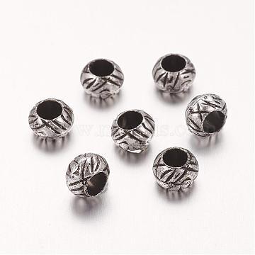 7mm Rondelle Acrylic Beads