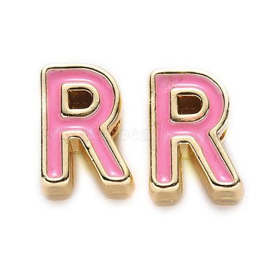 Perles d'émail d'alliage de placage de support(X-ENAM-S122-033R-NR)-1