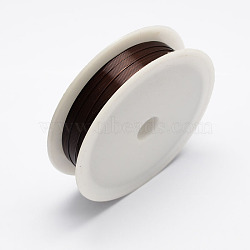 fil de fer, coconutbrown, Jauge 24, 0.5 mm, 7 m / rouleau, 10 rouleaux / set(MW-R001-0.5mm-06)