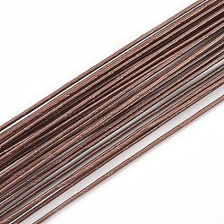 железная проволока, coconutbrown, 18 датчик, 1 мм; 80 см / нитка; 50 нить / мешок(MW-S002-01B-1.0mm)