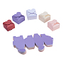 Mixed Color Heart Paper Jewelry Box(CON-NB0001-14)