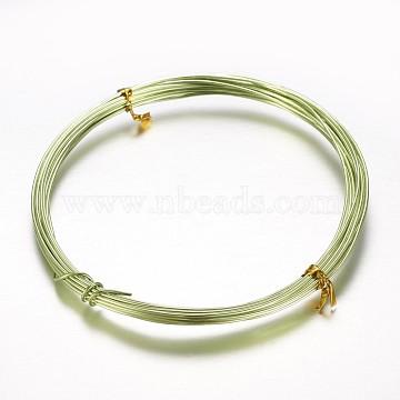 1mm GreenYellow Aluminum Wire