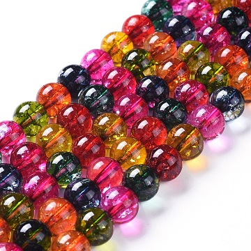 10mm Mixed Color Round Other Quartz Beads