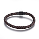 Leather Braided Cord Bracelets(BJEW-E352-04A-B)-1