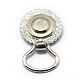 Alloy Rhinestone Snap Magnetic Brooch Makings(X-PALLOY-Q315-09)-2